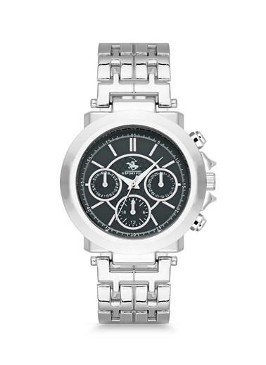 G-Sport Polo Saat Gümüş
